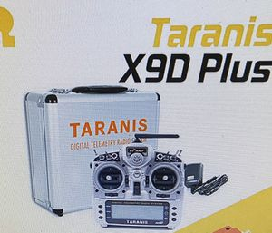 FrSky 2.4ghz ACCST Taranis X9D Plus transmitter case and R9M for Sale in Tampa, FL