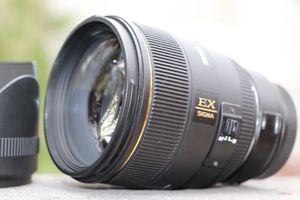 Sigma 85mm f/1.4 EX DG HSM Lens for Sale in Centreville, VA