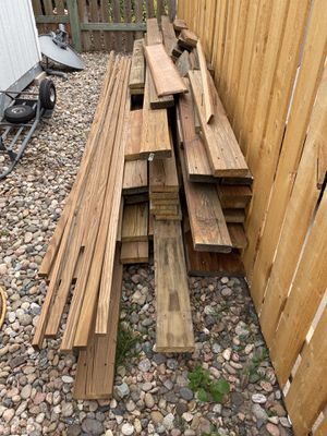 Free Pressure Treated Lumber for Sale in Colorado Springs, CO