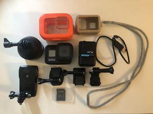 GoPro Hero 8 Black plus accessories for Sale in Fullerton, CA