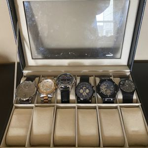 Collection Of Watches/ Great Condition and Watch Case for Sale in Derby, KS