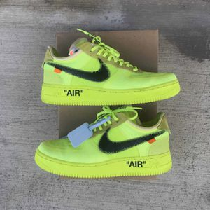 Nike Off White Air Force 1 Low Volt Size 9 for Sale in Garden Grove, CA