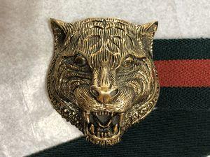Gucci feline web belt for Sale in La Mirada, CA