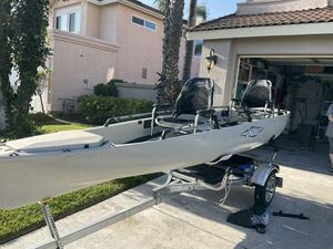 Hobie Pro Angler 17T and Malone Micro Sport XT for Sale for Sale in Aliso Viejo, CA