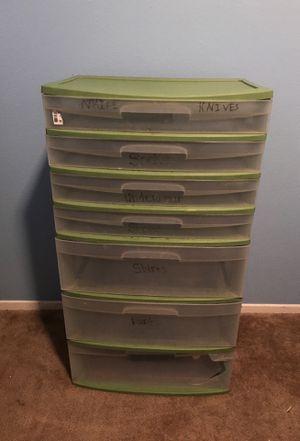 Plastic storage drawer for Sale in San Jacinto, CA
