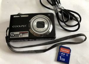 Nikon Coolpix S630 12.0MP 7x Optical Zoom Digital Camera Memory Card for Sale in Lowellville, OH