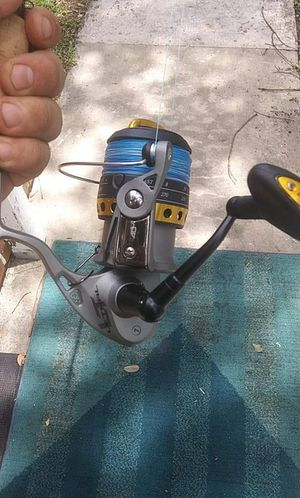 Fin nor lethal mega drag spinning reel with st croix rod for Sale in Bartow, FL