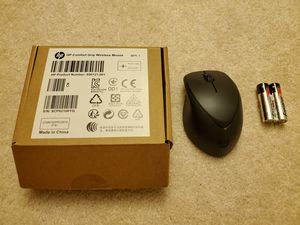 HP Comfort Grip wireless mouse with new batteries for Sale in Des Plaines, IL