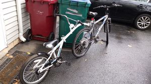 "26"" schwinn with 20"" copilot wee ride for Sale in Lowell, MA"