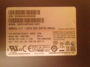 2Tb SSD solid state drive for Sale in Manassas, VA