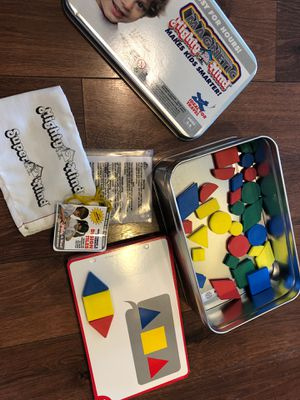 New magnetic shape game - mighty mind toys - great for homeschool or travel for Sale in AZ, US