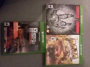 xbox one games for Sale in Hesperia, CA