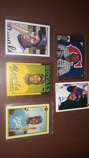 Bo jackson baseball cards for Sale in Georgetown, AR