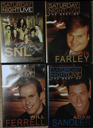 Saturday Night Live best off DVDs. for Sale in Tacoma, WA