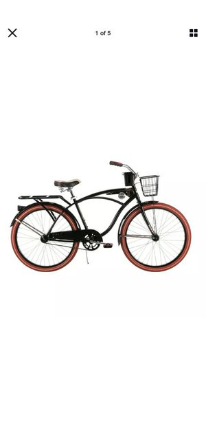 """Huffy Nel Lusso 26"""" in Men's Cruiser Bike Black and red wheels for Sale in St. Petersburg, FL"""