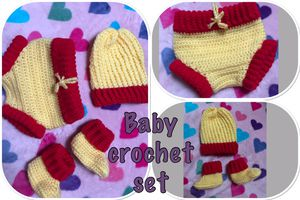 Baby crochet set for Sale in Chicago Heights, IL