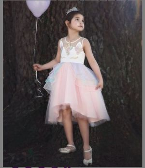 Trish Scully Pink Unicorn Dress 4T $25 for Sale in Arlington, TX