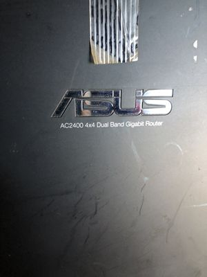 Asus AC2400 4x4 Diablo band gig router for Sale in Fremont, CA
