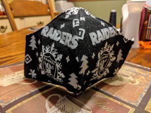 Home made face mask (raiders, dodgers and giants) for Sale in Clovis, CA