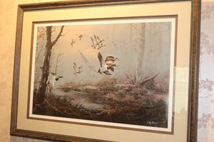 """Misty Morning Mallards"" Print by Ted Blaylock '83 for Sale in Fenton, MO"