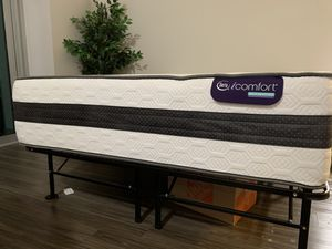 Queen size Serta iComfort Hybrid Bed & Frame! for Sale in Charlotte, NC