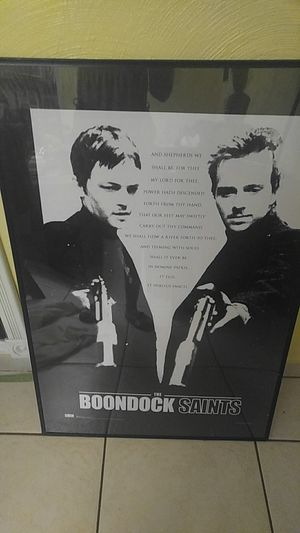 Boondock Saints picture in frame for Sale in Lake Worth, FL