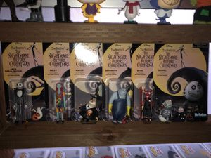 Nightmare before Christmas figures for Sale in Sacramento, CA