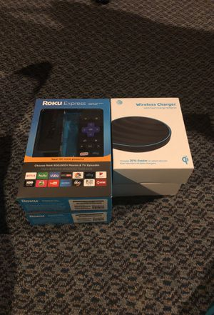 Roku wireless charger for Sale in Philadelphia, PA