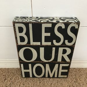 Bless Our Home Sign for Sale in Vancouver, WA