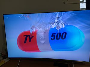 Samsung 55 curved tv for Sale in Fort Lauderdale, FL