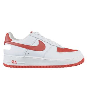 Nike Air Force 1 - White/Varsity Red - Sz. 9.5US (USED) for Sale in Hayward, CA