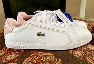 *BRAND NEW* w/ Tags Pink Lacoste Sneakers Shoes Size 7 👟 for Sale in Tacoma, WA