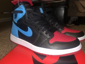 Jordan 1 Nc to CHI size 7.5 mens size 9 womens for Sale in Aurora, CO