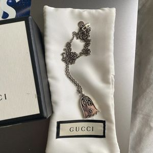 Used authentic Gucci ghost necklace for Sale in Los Angeles, CA