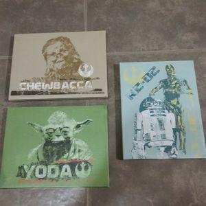 Star Wars canvas pictures for Sale in Glendale, AZ