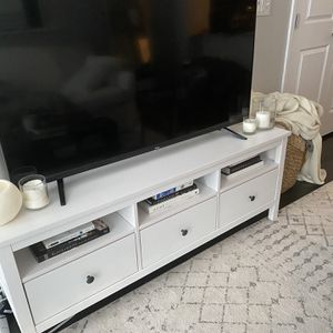 White IKEA Entertainment Center for Sale in Aurora, CO