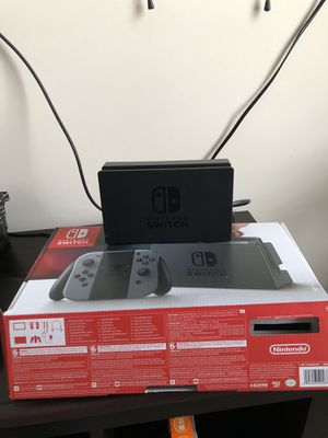 Nintendo Switch with two joy-cons, one wireless controller and two games for Sale in Fairfax, VA
