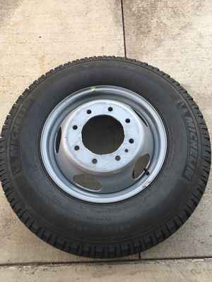 New dually tire and wheel for Sale in Rancho Cucamonga, CA