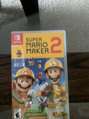 Súper Mario maker 2 for Sale in Carrollton, TX