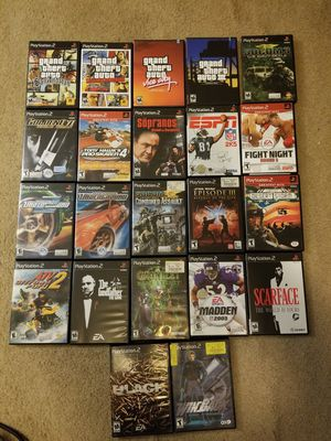 PS2 GAMES BUNDLE of 22 games for Sale in Queens, NY