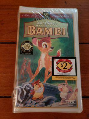 BRAND NEW Disney VHS Bambi for Sale in Jacksonville, FL