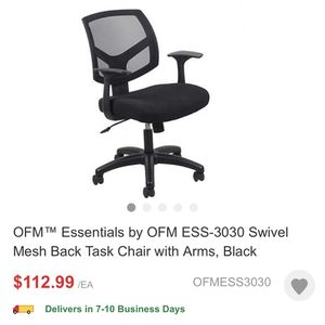 Ergonomic Office Chair- Brand New! for Sale in Nashua, NH