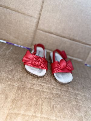 Cute red sandals for Sale in Buena Park, CA