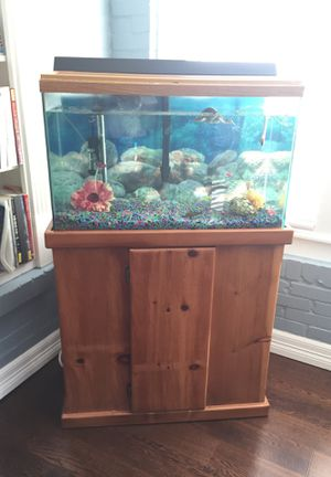 Fish tank 30 gallons for Sale in Houston, TX