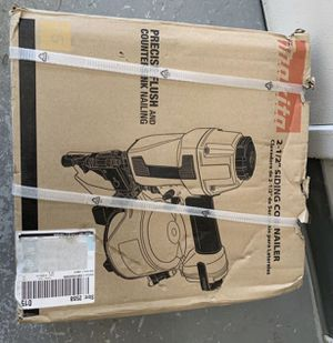 Makita 2-1/2 in. 15° Siding Coil Nailer for Sale in Silver Spring, MD