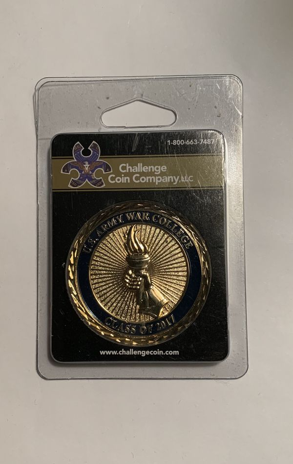 US army War College Challenge coin