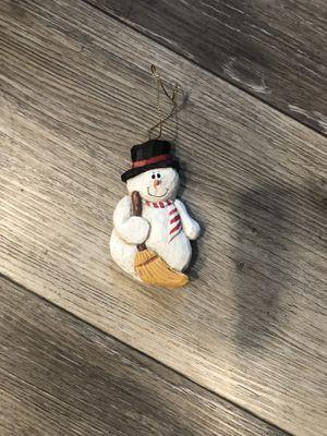 Snowman ornament for Sale in Rancho Cordova, CA