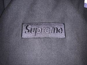 SUPREME 14AW Tonal Box Logo Pullover Hoodie Black for Sale in Jacksonville, FL