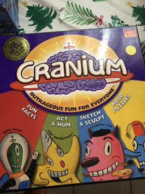 Cranium Board game new but open for Sale in El Paso, TX
