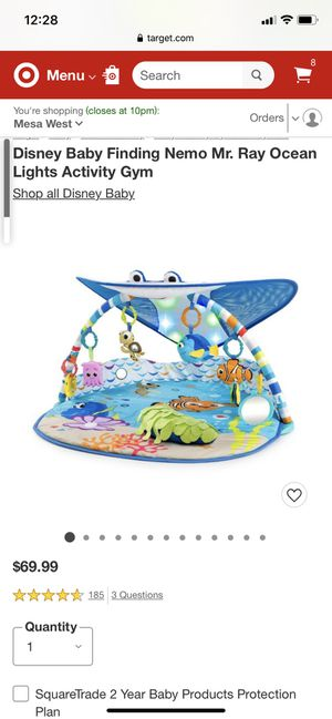 Finding Nemo Play Mat for Sale in Mesa, AZ